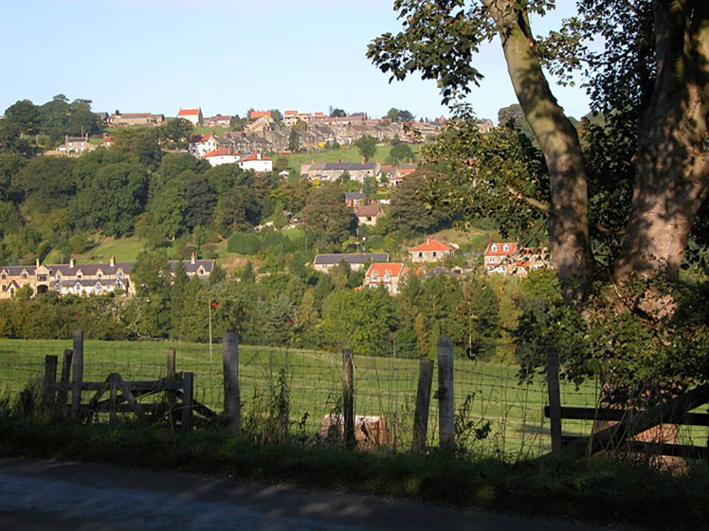Glaisdale Village from Carr End
